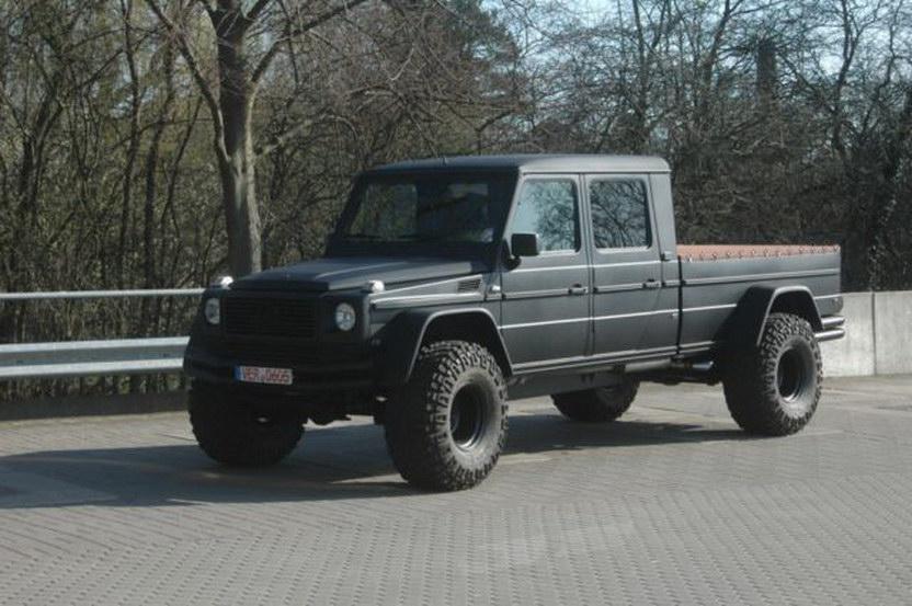 Mercedes g pickup truck wagen 2 a for Mercedes benz pickup truck for sale