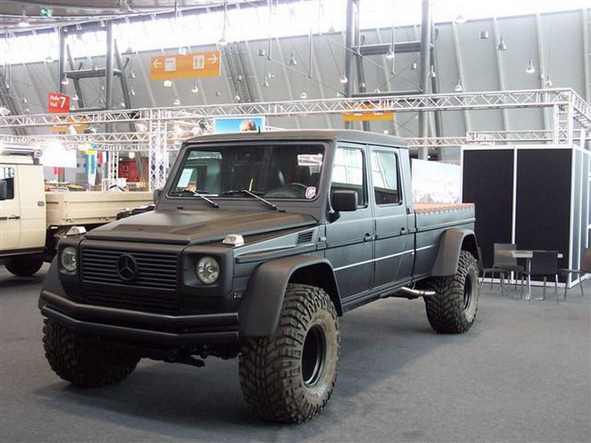G500 Conversion Is Like A Mini Unimog Benzinsider Com