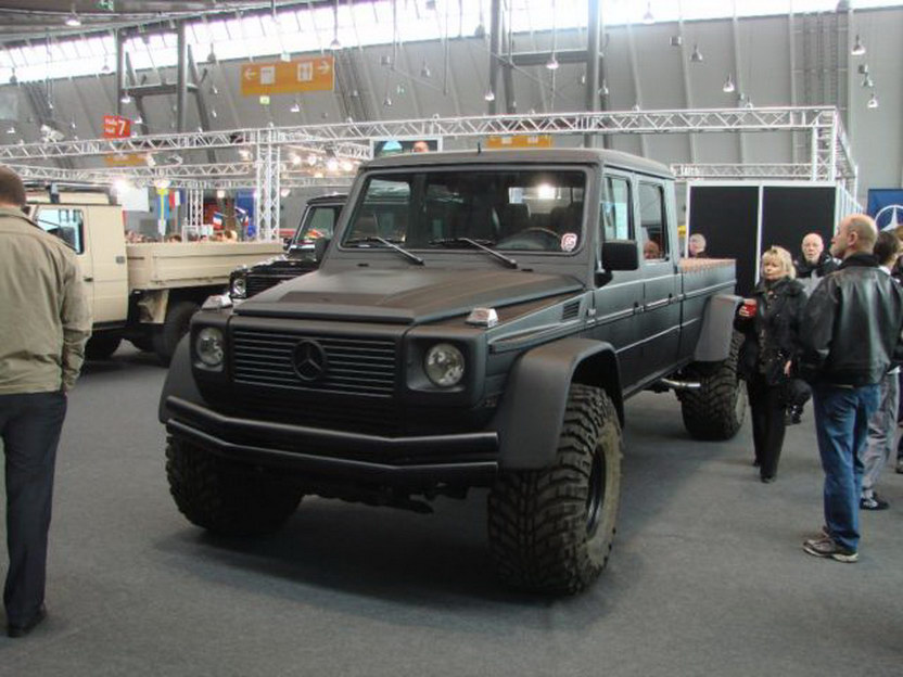 G500 conversion is like a mini unimog for Mercedes benz truck g class