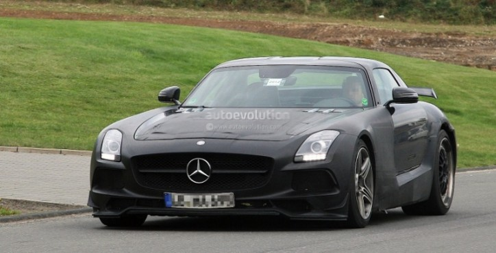 mercedes sls amg black series will have 630 hp 50782 1 724x370 630 Horsepower Output Claim For Black Series SLS