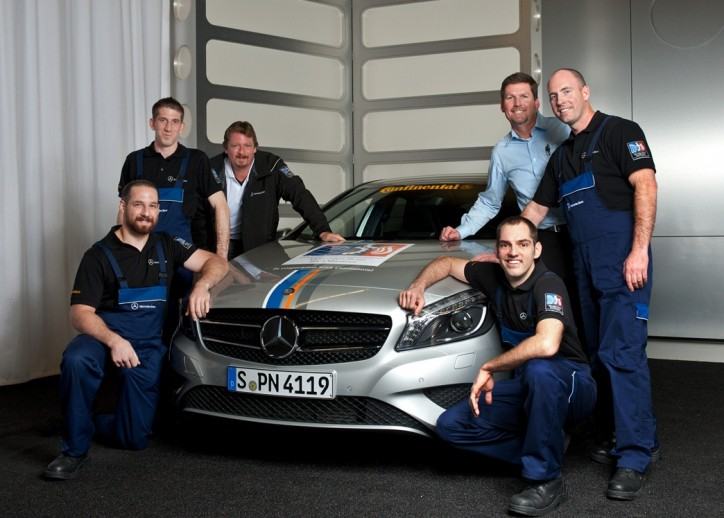 mercedes service competition allows techs to shine