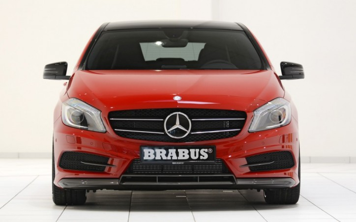 BRABUS Components for Mercedes Benz A250 Sport 005 724x452 BRABUS Works its Magic on the New Mercedes Benz A Class