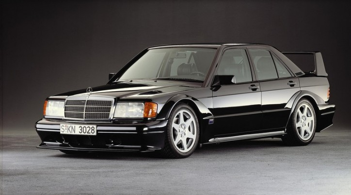 MB 190E 2.5 s 724x402 Mercedes Introduces C Class Precursor 30 Years Ago