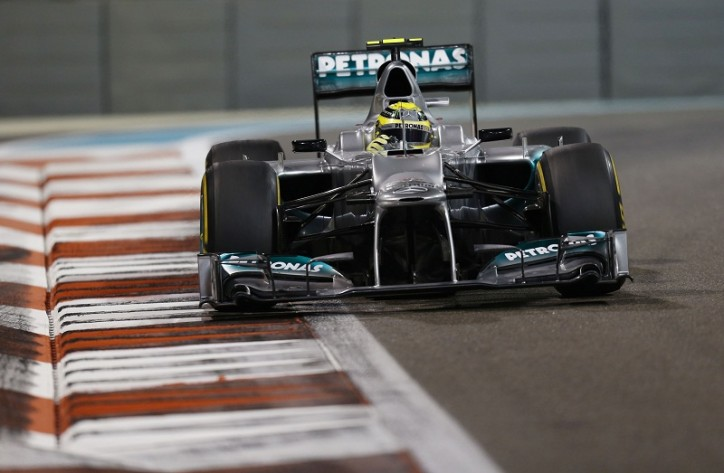 Mercedes AMG Petronas Abu Dhabi Grand Prix F1 724x473 F1: Rosberg P8, Schumacher P14 as Hamilton Clinches Pole