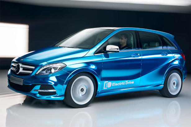 Mercedes B Class Electric Drive Concept B Class Electric Drive To Be First Launched On American Shores
