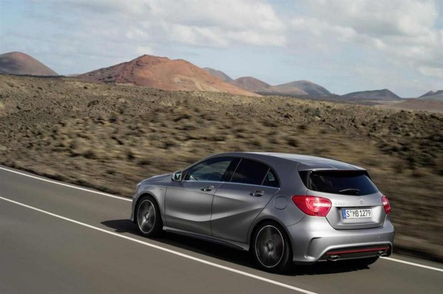 Mercedes Benz A45 AMG rear 62 625x415 Mercedes Australia Aims To Pad Its Lead In 2013