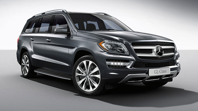 Mercedes Benz Gl Is Motor Trend S Suv Of The Year