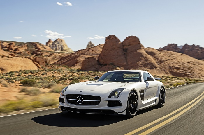Mercedes Benz SLS AMG Coupe Black Series 015 Mercedes Benz Unveils the SLS AMG Coupe Black Series