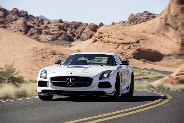 Mercedes Benz SLS AMG Coupe Black Series 018 New AMG Models Launched in Bahrain