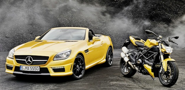 Mercedes AMG Ducati Looking Back at the Mercedes Benz AMG and Ducati Partnership