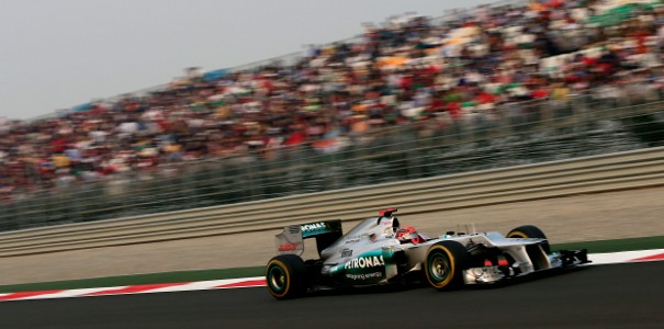Mercedes Michael Schumacher Abu Dhabi Grand Prix F1: Mercedes Upbeat Heading into Abu Dhabi GP