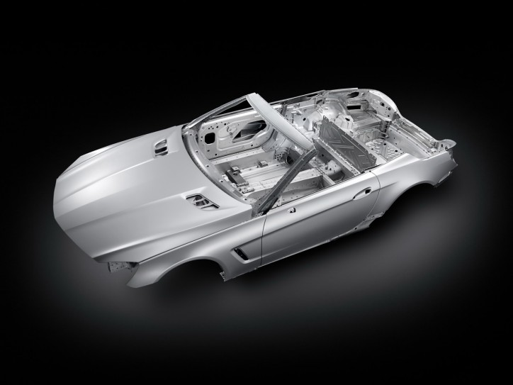 The SL wins EuroCarBody Award 2012 724x543 SL Body Structure Reaps Design Award