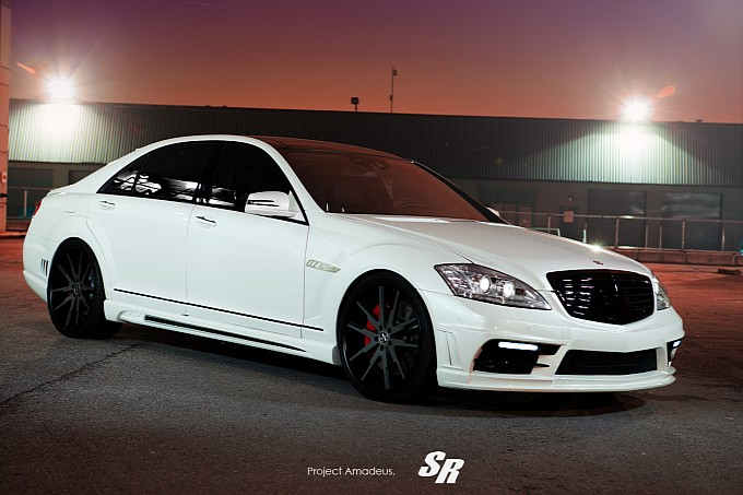 black bison mercedes s63 amg project amadeus photo gallery medium 2 Tuner Combo Produces An Aggressive S Class