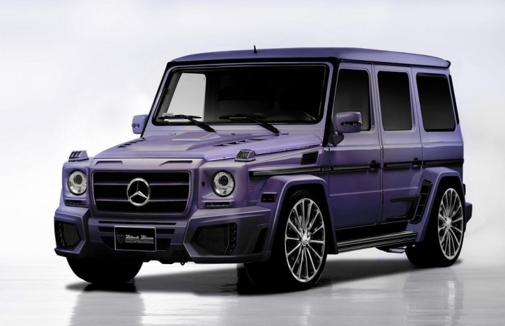 mercedes benz g55 amg wald international sema 11 724x468 Wald Shows Wild G55 At SEMA