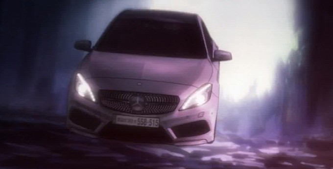 new mercedes a class gets into japanese anime video 7 Mercedes Posts Anime Vid To Introduce A Class