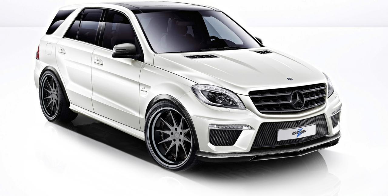 11 RevoZport Aftermarket Program For 2012 Mercedes Benz ML63 AMG