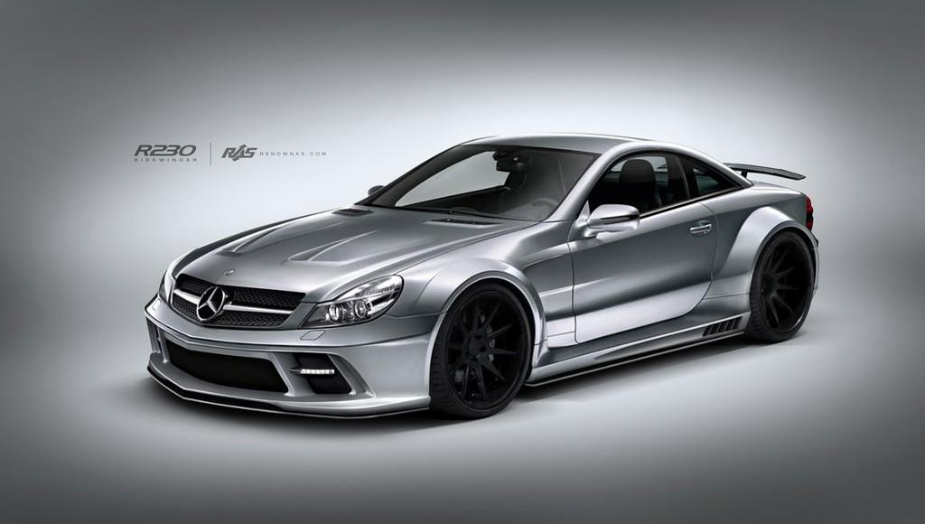 12 Body Kit For Mercedes Benz SL (R230) Offered By Renown Auto Style
