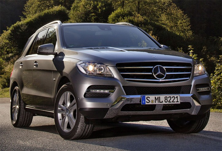 2013 Mercedes ML500 2 724x494 Two Mercedes Benz Cars Recognized as Most Environment Friendly