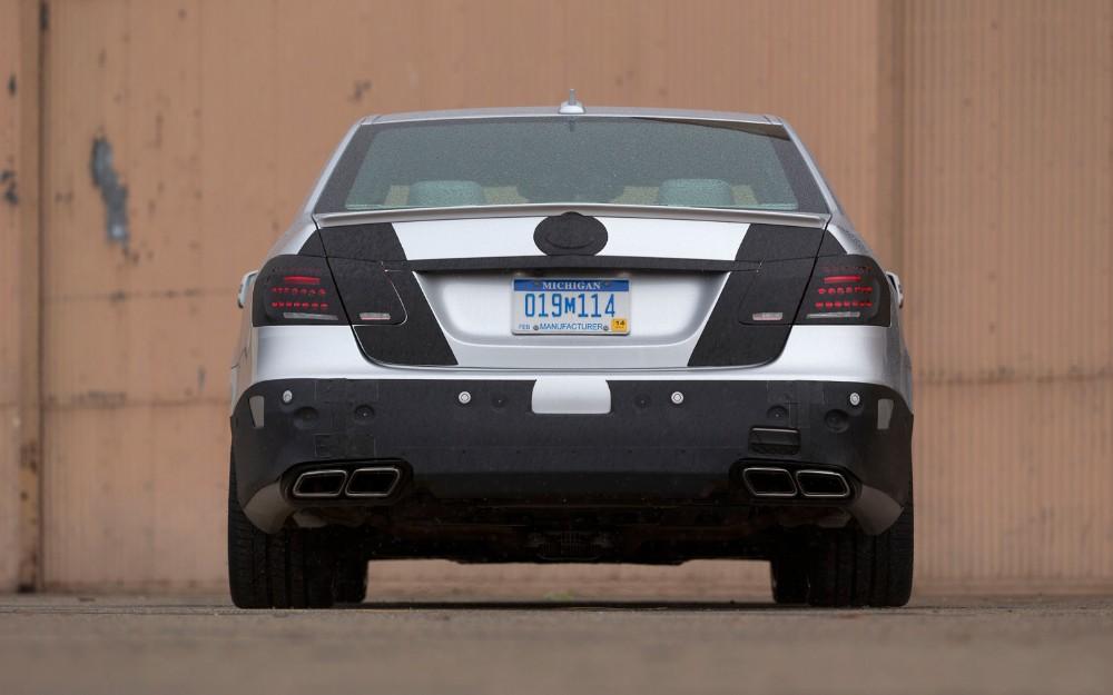 AMG [Gallery] 2014-Mercedes-Benz-E63-AMG-4Matic-Development-Mule-rear