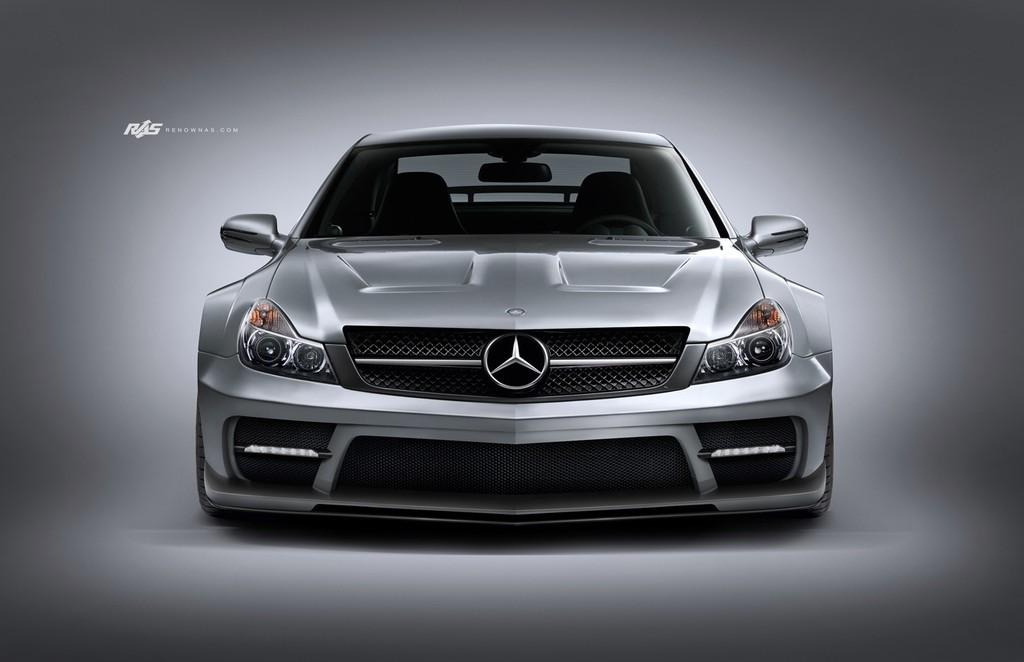 Body kit for mercedes benz sl r230 offered by renown for Mercedes benz body styles