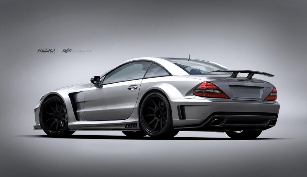 Body Kit For Mercedes Benz Sl R230 Offered By Renown