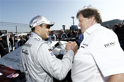480 T8R1844 Haug Retires From Mercedes Motorsport After 22 Years