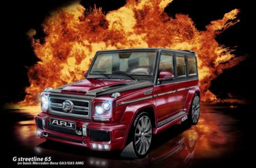 ART German Tuner A.R.T. Boost Up Mercedes Benz G63/65 AMG