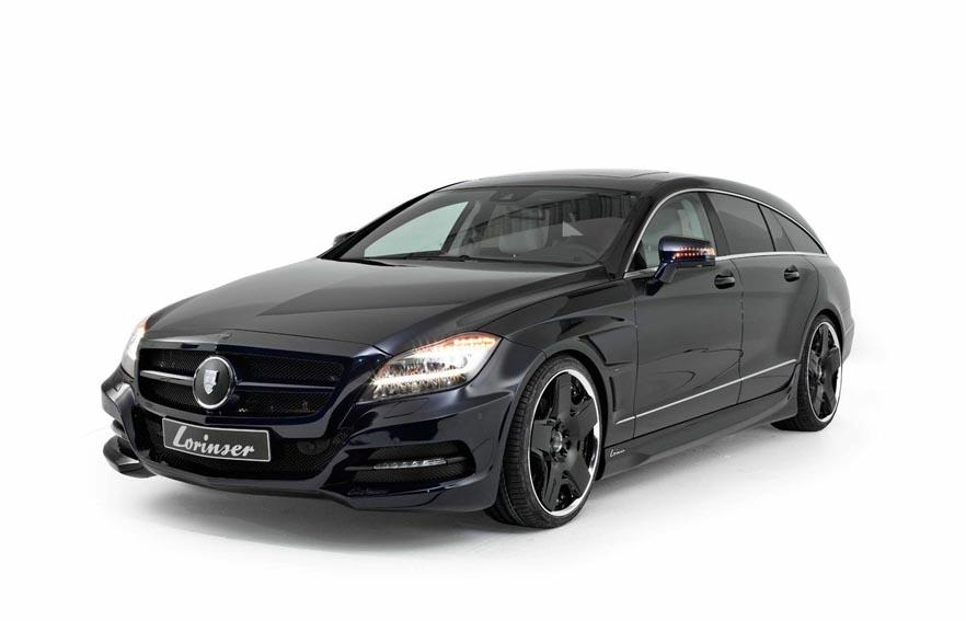 Mercedes Benz CLS Shooting Brake 1 Lorinser Upgrade Available For The Mercedes Benz CLS Shooting Brake
