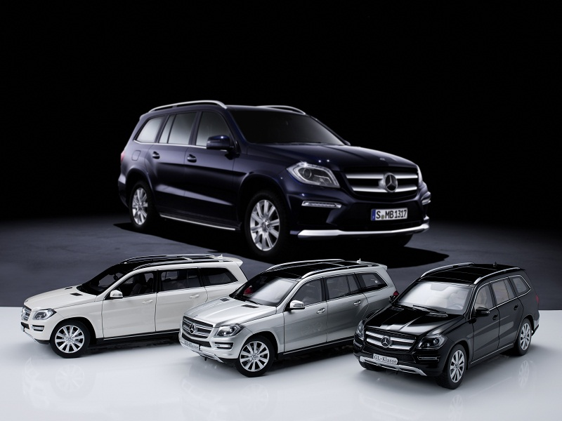 Mercedes Benz GL Class Miniatures 01 Mercedes Benz GL Class Miniatures Now Offered