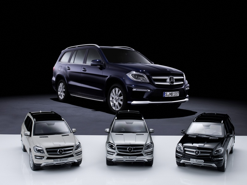 Mercedes Benz GL Class Miniatures 02 Mercedes Benz GL Class Miniatures Now Offered