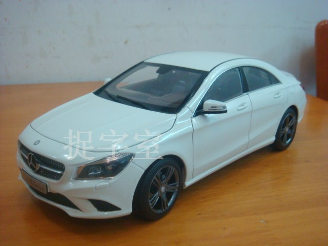 New Mercedes Benz CLA Scale Model 01 Scale Model Spoils New Mercedes Benz CLA Further
