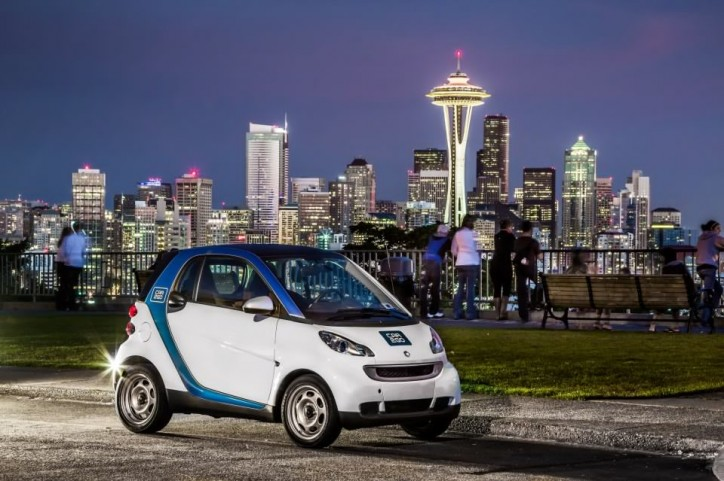 Seattle car2go Official 724x481 Seattle Officially Gets car2go
