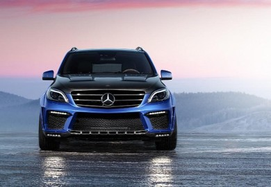 The ML 63 came with a boost in its V8 engine plus armor enhancements.