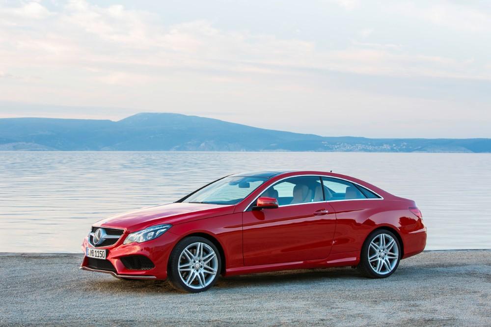 Mercedes Reveals 2014 E Class Coupe And Cabriolet