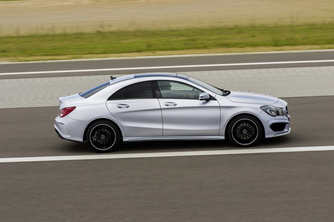 007 2014 mercedes benz cla2501 Offiicial: 2014  Mercedes Benz CLA Class Revealed
