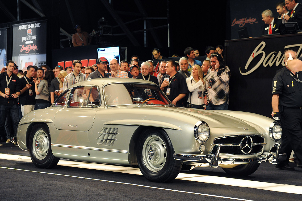 01 clark gables 1955 mercedes benz 300sl 1358643785 Clark Gable's Gullwing Finally Sold for $1.85 Million