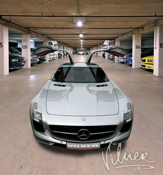 16 Interior Of A Mercedes Benz SLS AMG Given A Makeover By Vilner