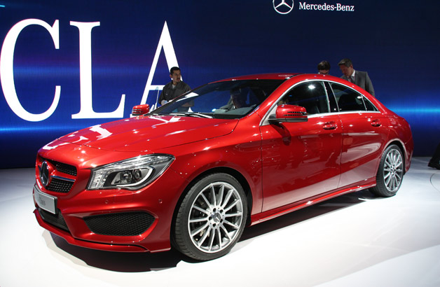 2014 Mercedes Benz CLA Class Impressive Aerodynamics Offered By The 2014 Mercedes Benz CLA Class