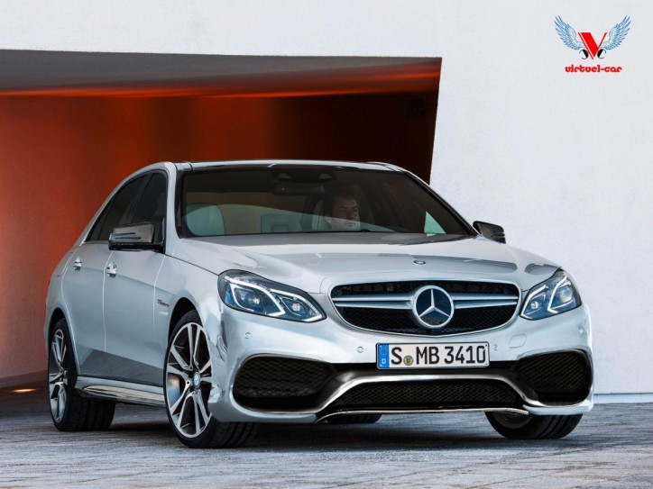 2014 Mercedes-Benz E63 AMG rendering