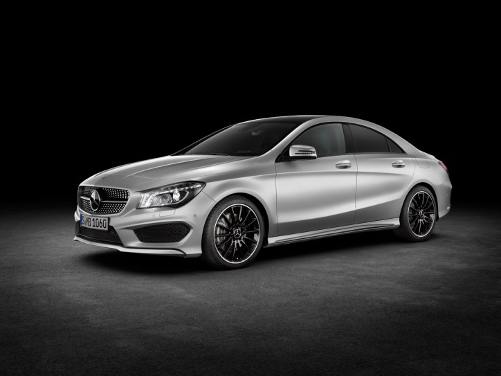 2014 Mercedes Benz CLA Mercedes Benz, Luxury Automakers Encroaching on Mass Market Segments