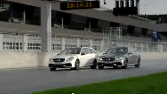 E63 AMG 4MATIC S Model Track Clip Of E63 AMG S Model Pair