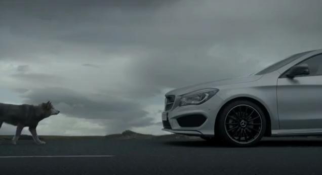 Video mercedes benz cla ad untamed for Mercedes benz commercials