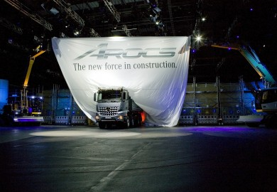 New Mercedes-Benz Arocs World Premiere