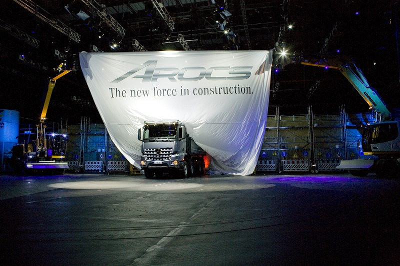 New Mercedes Benz Arocs World Premiere Mercedes Benz Arocs World Premiere Rounds Out Heavy Duty Truck Range