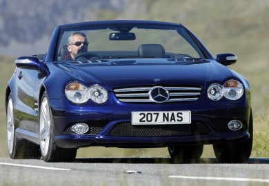 Mercedes-Benz ranked third among the cars with reliable engines.