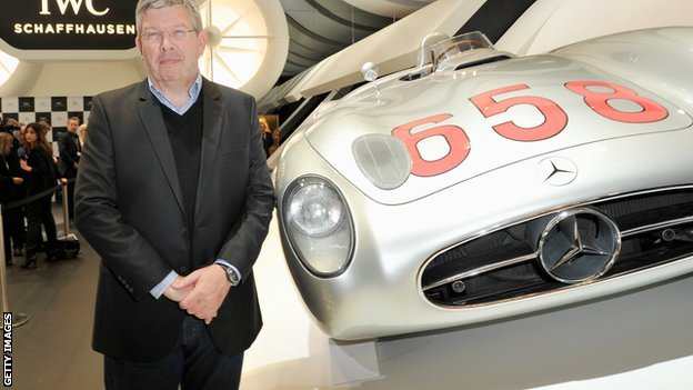 Ross Brawn Ross Brawn Will Stay with Mercedes Benz Team