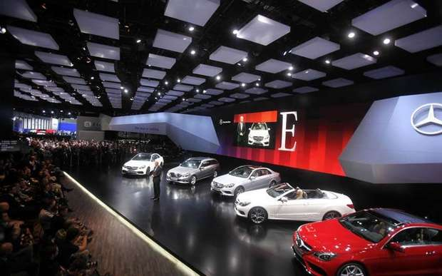 bilde 111 Newest E Class Finally Unveiled at the Detroit Autoshow