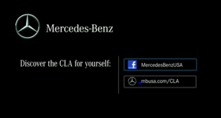 cla Mercedes Teasing CLA For The Superbowl