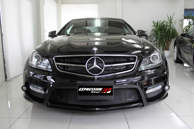 em3 Expression Motorsport Enhances Mercedes Benz C Class Coupe With A New Body Kit