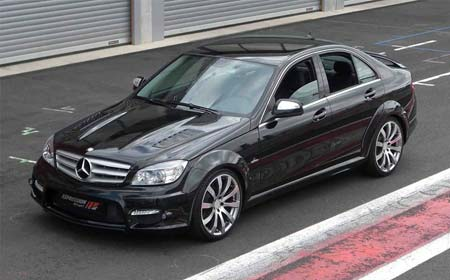 Expression motorsport enhances mercedes benz c class coupe with a new body kit - Mercedes c class coupe body kit ...